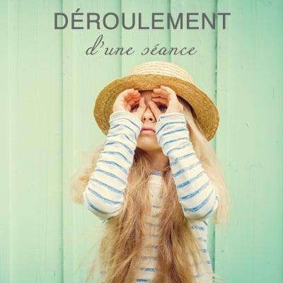"""DÉROULEMENT<br /><span class=""""miama"""">des séances</span>"""