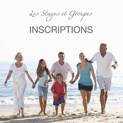 """<span class=""""miama"""">Les Stages & Groupes</span><br />INSCRIPTIONS"""